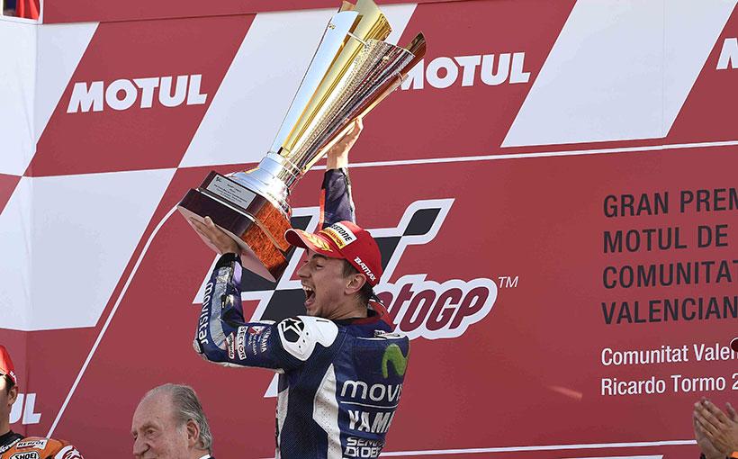 Valencia MotoGP Post-Race Report: Lorenzo World Champion!