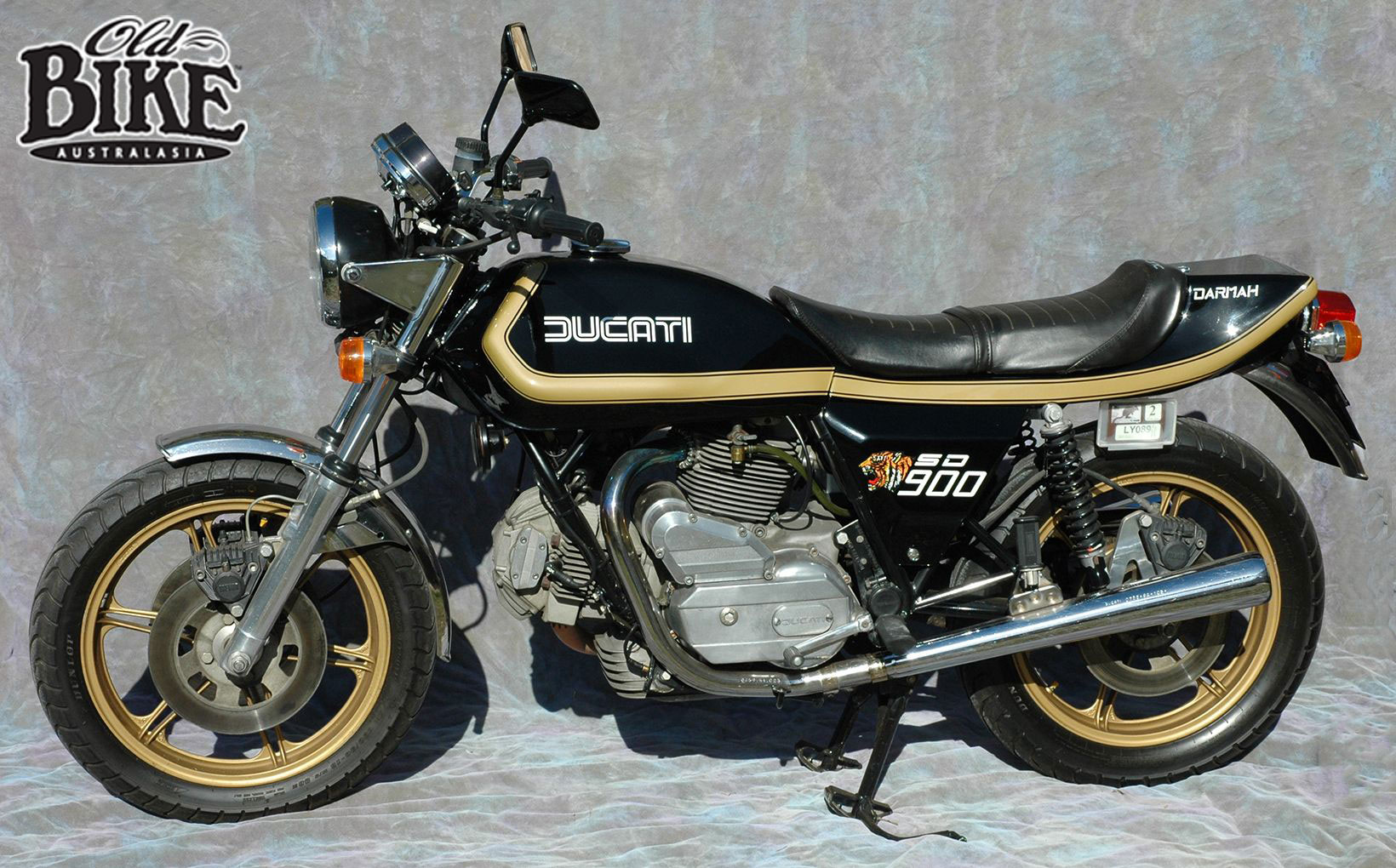 SD 900 Ducati Darmah - An Alsatian in Tiger's clothing