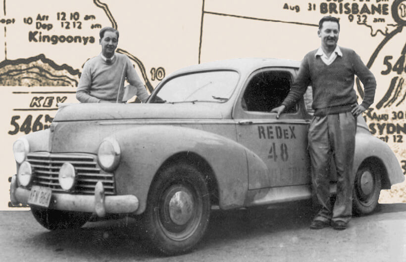 Peugeot 203 & 403: Redex Trial, Ampol Trial and 'Great Race' Legends