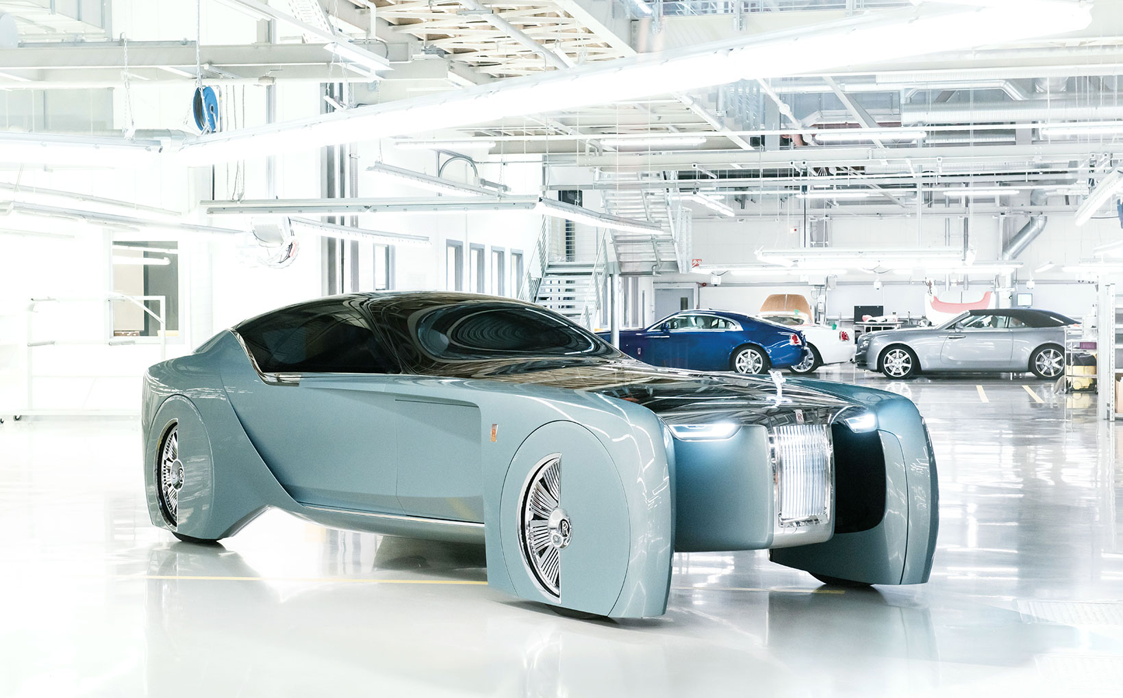 Is the Rolls-Royce's 103EX vision of the future too outlandish for words?