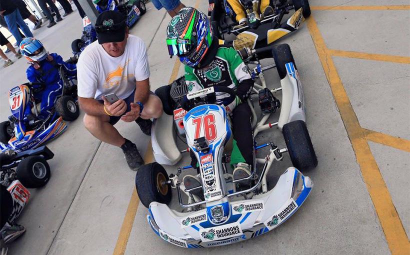 Emerson Harvey signs with Ricciardo Kart & Patrizicorse for 2016