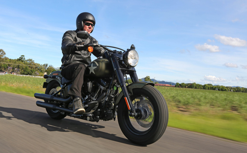 Harley-Davidson Softail S-Series: Grooving with Fat Boy Slim