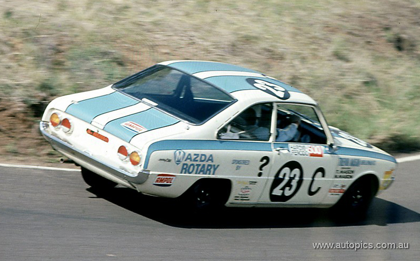 Mazda R100:  The first Mazda rotary at Bathurst