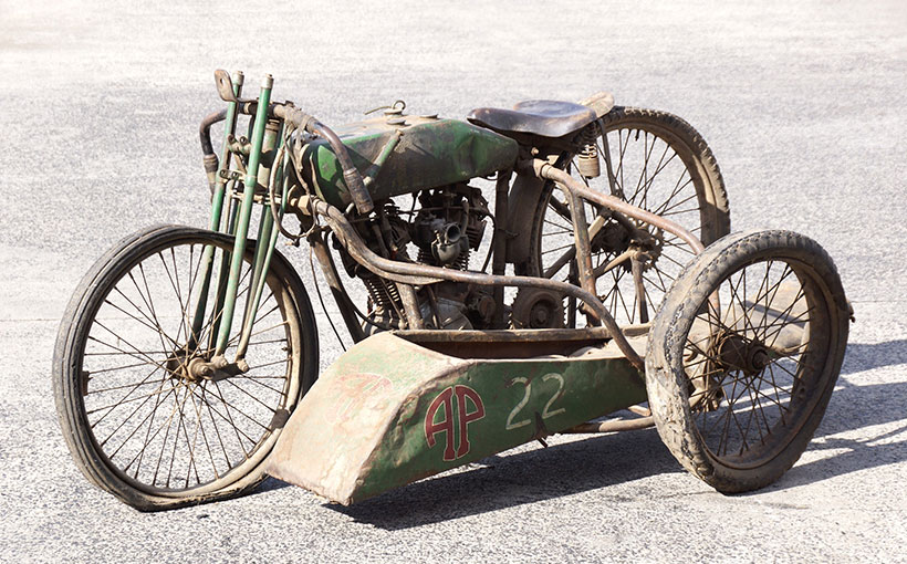 Very collectible circa-1927 Harley-Davidson factory racer with 'no reserve'