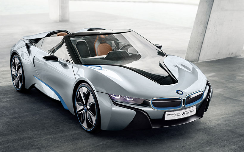 Is BMW's topless i8 Spyder a suitable 100th year birthday present?