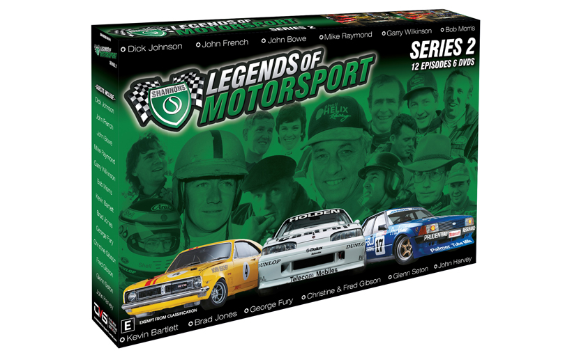Shannons Legends of Motorsport Series 2 – NOW ON DVD
