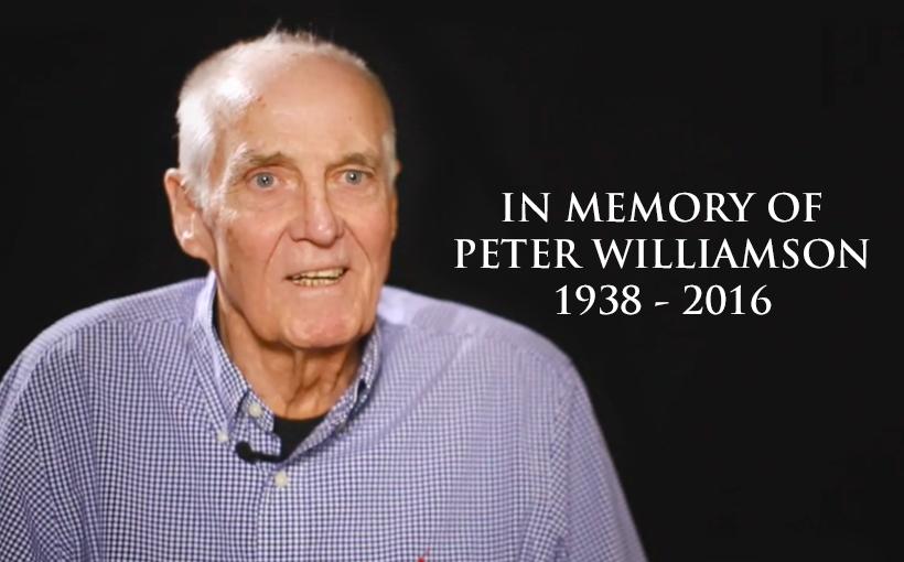 Vale Peter Williamson (1938 – 2016)