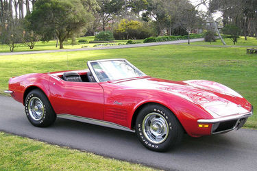 Corvette Stingray Auction on Corvette Convertible  Lhd    Classic Vehicle Auctions   Shannons