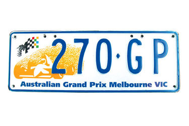 Victorian Number plates - '270 GP'