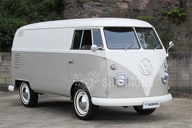 Volkswagen Kombi 'Windowless' Panel Van (RHD)