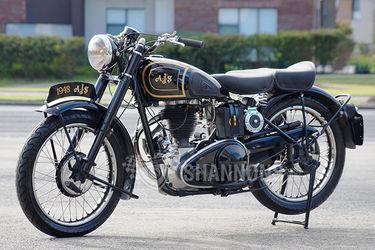 AJS M16 'Saddle Tank' 350cc Motorcycle