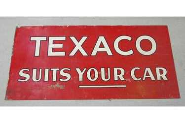 Tin Sign - Texaco