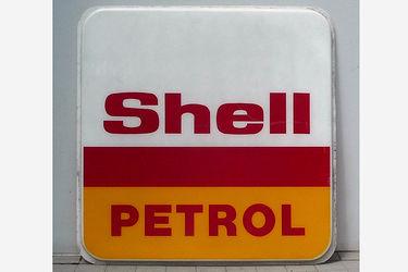 Acrylic Sign - Shell Petrol Acrylic Sign (one sided 180cm x 180cm)