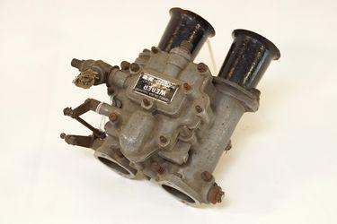 Weber Carburettor - Sandcast Weber 40DCO3 No2 sidedraught  - from Alta 4 cylinder engine