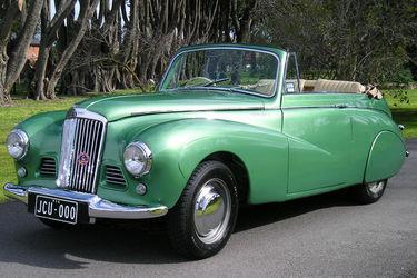 Sunbeam Talbot MK II 90 Convertible