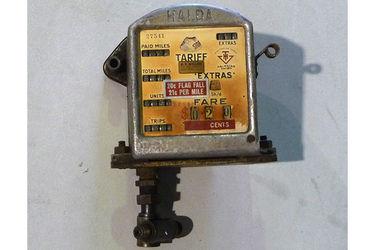 Taxi Meter - c1960's-70's Halda Taxi Meter