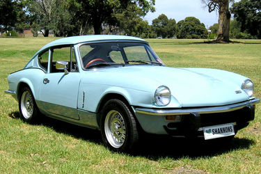 Triumph GT6 MKIII Coupe