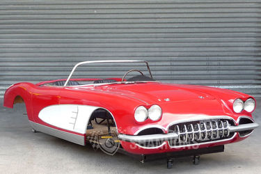 Theatre Prop - Using 1958 Chevrolet Corvette Body Panels (Full size)