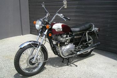 Triumph Bonneville 750cc Motorcycle