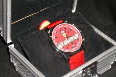 Watch - Red Ferrari Eberhard & Co Replica