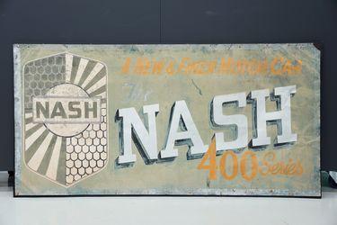 Tin Sign - Nash Dealer Sign (185cm x 95cm)