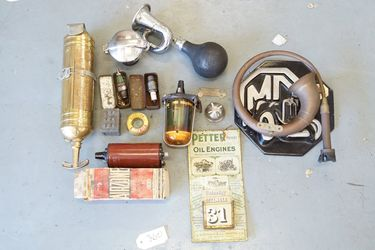 15 x Various Car Parts & Workshop Ornaments