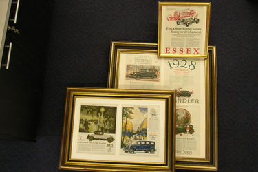 3 x Framed Prints - American Vehicle Advertising