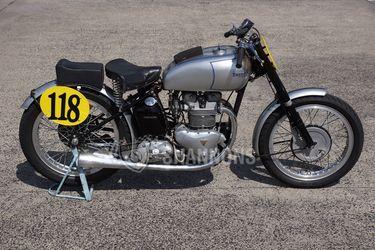 Triumph 500cc Grand Prix Replica Solo Motorcycle