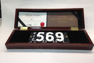 Victorian Numerical Heritage Plate - '569'