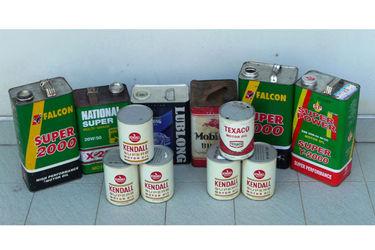 Tins - 12 x Variety Oil Tins