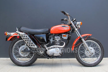 Triumph SS Blazer Motorcycle