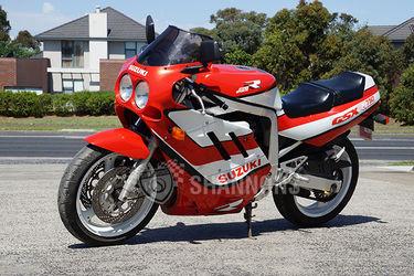 Suzuki GSX-R  'Slingshot' 750cc Motorcycle