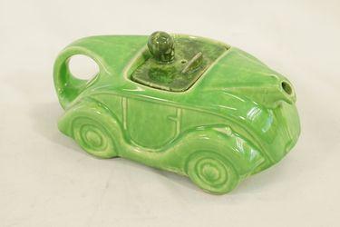 Teapot x 1 - Sadler ceramic racing car teapot.