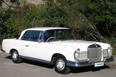 Mercedes benz 250se coupe