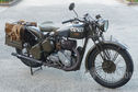 BSA WM20 500cc Motorcycle & Sidecar