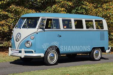 Volkswagen Kombi Split Window Van (LHD)