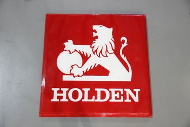 Acrylic Sign - Holden Embossed (123 x 123cm)
