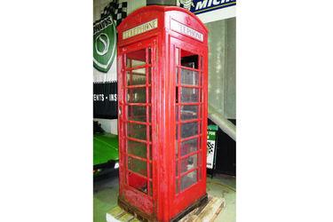 Telephone Box -  UK red telephone box circa 1936-1970