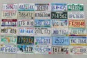 Number Plates - 50 Genuine USA Plates (One for each State)
