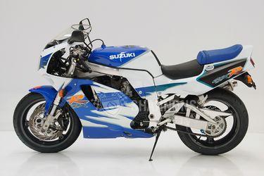 Suzuki 750 GSX-R Motorcycle