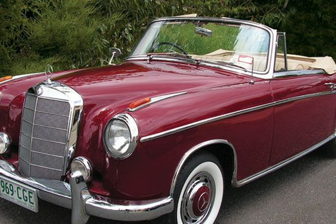 Mercedes benz 220s cabriolet for 1959 mercedes benz 220s