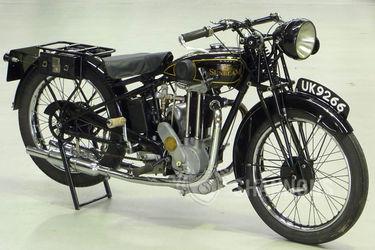 Sunbeam 350cc 'Twin Port' Solo Motorcycle