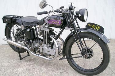 AJS 350cc 'Purple Tank' Motorcycle