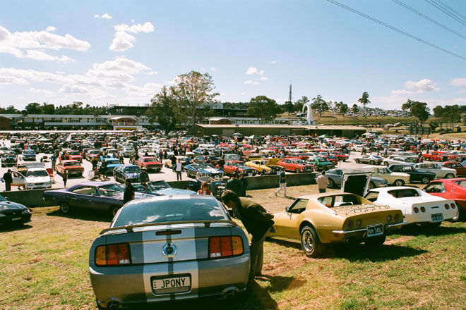 Enthusiasts Gather For Shannons Classic At Eastern Creek