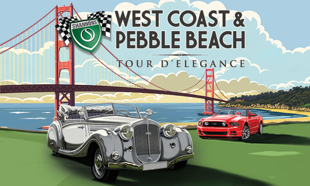 Shannons West Coast & Pebble Beach Tour d'Elegance