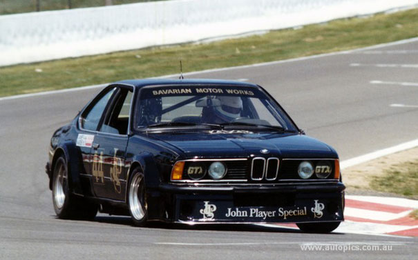Black Beauty: The Australian 'JPS' BMW 635 CSi