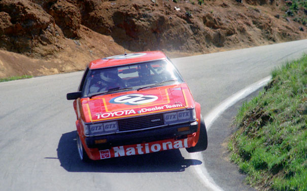 Racing Legends: The Toyota Celica, Willo and Racecam