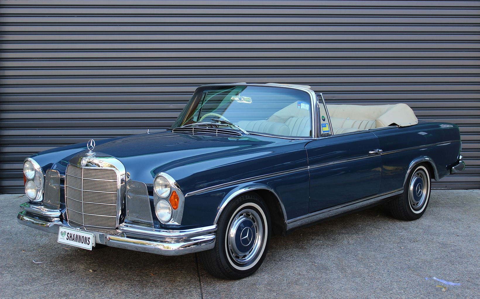 Locally built customs star in shannons sydney winter for 1965 mercedes benz