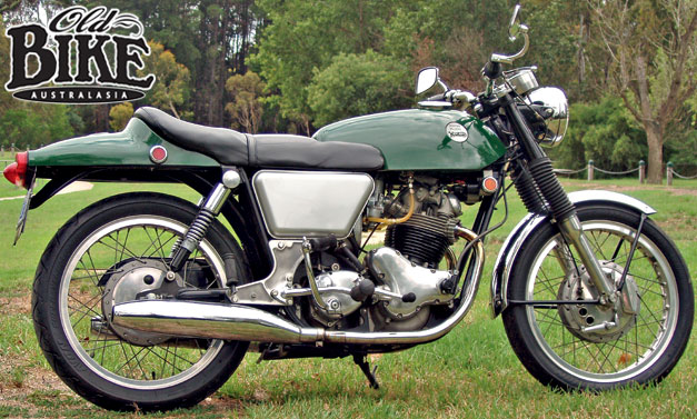 Old Bike Australasia: Norton Commando - Henry...The Green Engine
