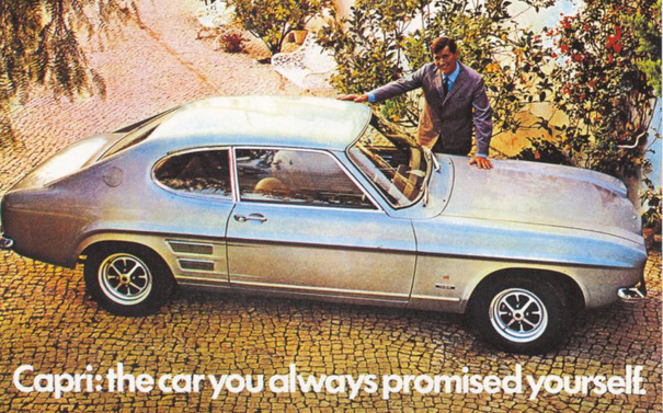 Ford's Capri - British Bulldog or Shetland Pony Car?